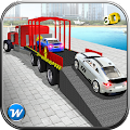 Car Transporter Trailer Truck APK for Bluestacks