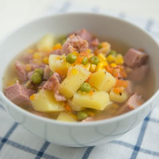 Chunky Ham and Potato Stew