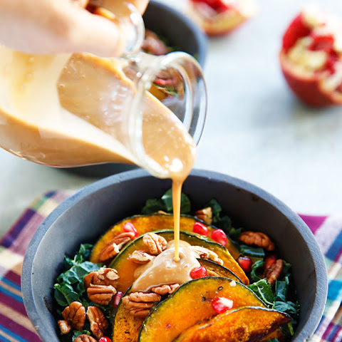 Harvest Salad with Maple Balsamic Dressing