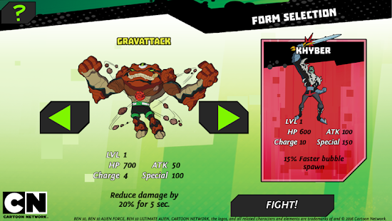 Game Ben 10: Omnitrix Power apk for kindle fire