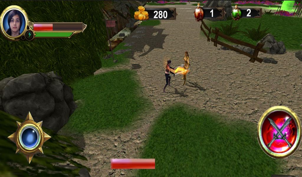 Katya action fighter Screenshot 3