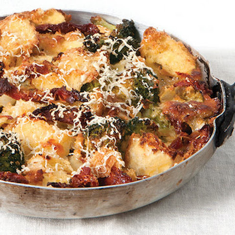 Strata with Broccoli & Sun-Dried Tomatoes