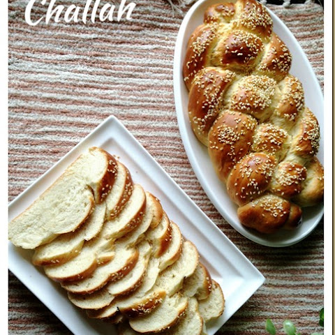4 Strands Braided Jewish Bread–Challah (犹太辫子面包)