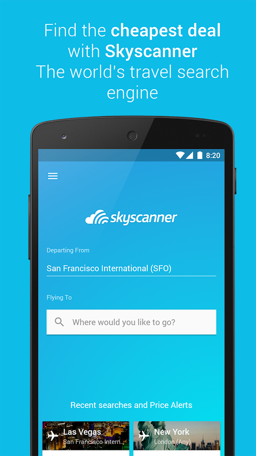 Skyscanner Screenshot 6