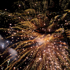 by PINAKI MITRA - Abstract Fire & Fireworks