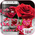 Red Rose Theme Love Valentine APK for Bluestacks