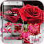 APK App Red Rose Theme Love Valentine for BB, BlackBerry