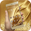 Gold Luxury Deluxe Theme APK for Bluestacks
