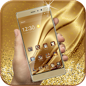 Download Gold Luxury Deluxe Theme APK to PC