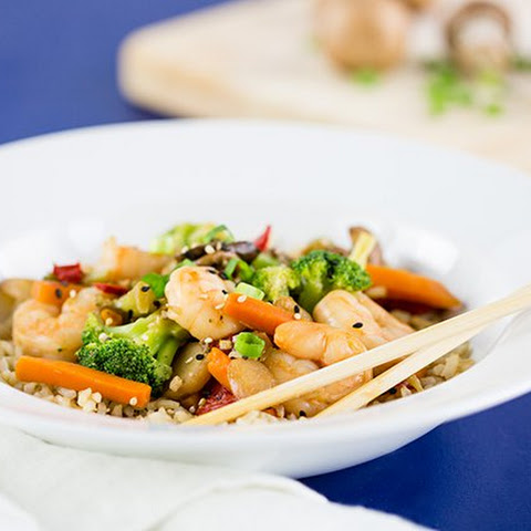 Quick Shrimp and Vegetable Stir-Fry