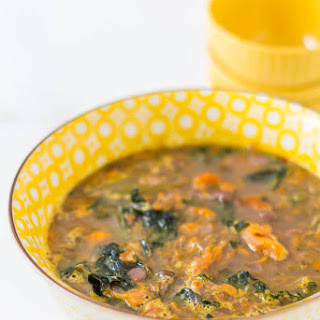 Lentil, Kale and Sweet Potato Stew