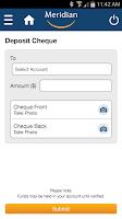 Screenshot of Meridian Mobile Banking