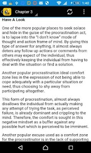Stop Procrastination - screenshot
