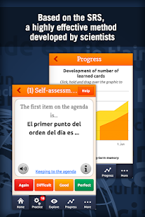 MosaLingua Business Spanish- screenshot thumbnail