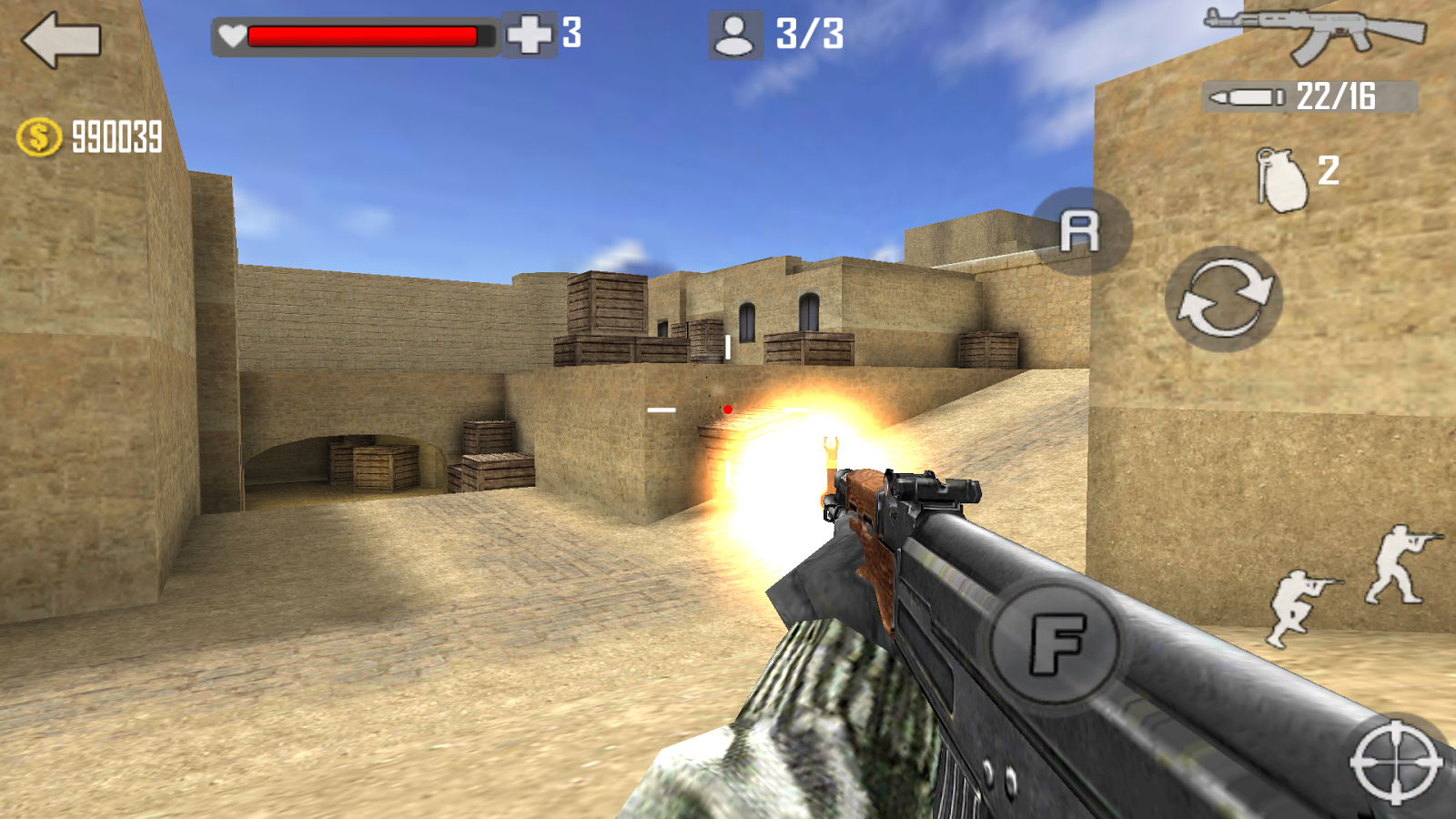 Shoot Strike War Fire Screenshot