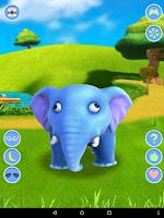 Screenshot of Talking Elephant