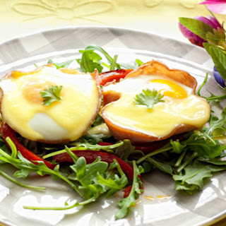 Eggs Benedict and Ham