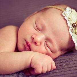 by Monika Wierzbicka - Babies & Children Babies ( girl, baby, newborn )