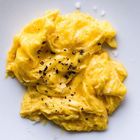 Soft Scrambled Eggs With Ricotta And Chives Recipes — Dishmaps
