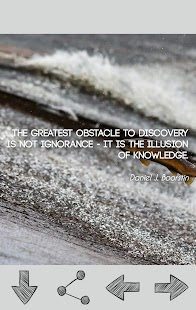 Knowledge Quotes - screenshot