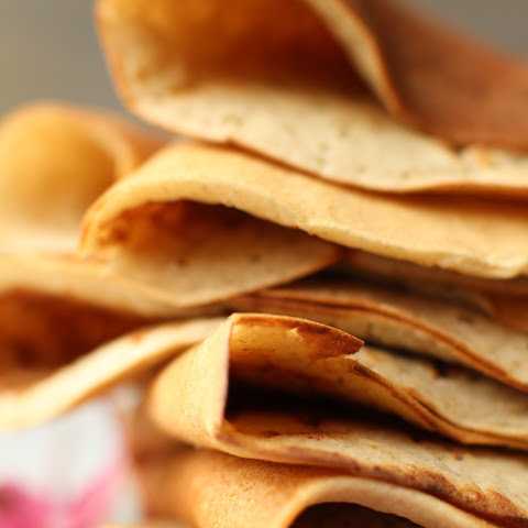 Vegan Oil-Free Crepes