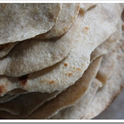 Homemade Whole Wheat SOFT Tortillas