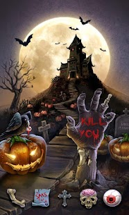 Free Halloween Night GO Theme APK for Windows 8