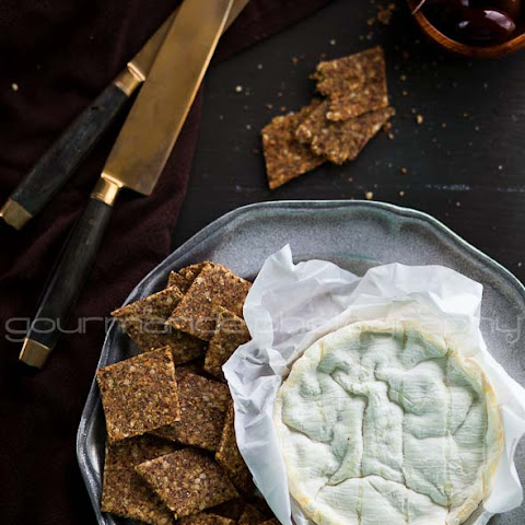 Homemade Flax and Hemp Seed Crackers Recipe (Grain-Free and Gluten-Free)