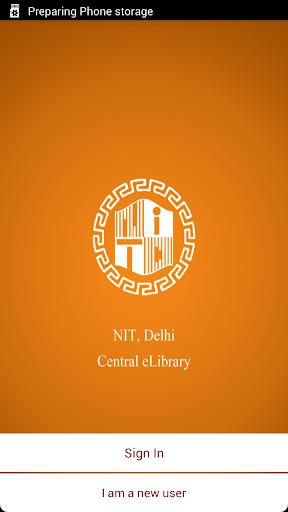NIT Delhi eLibrary