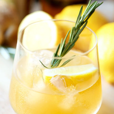 Rosemary Ginger Whiskey Sour