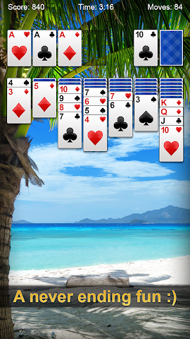 android Solitaire Screenshot 3