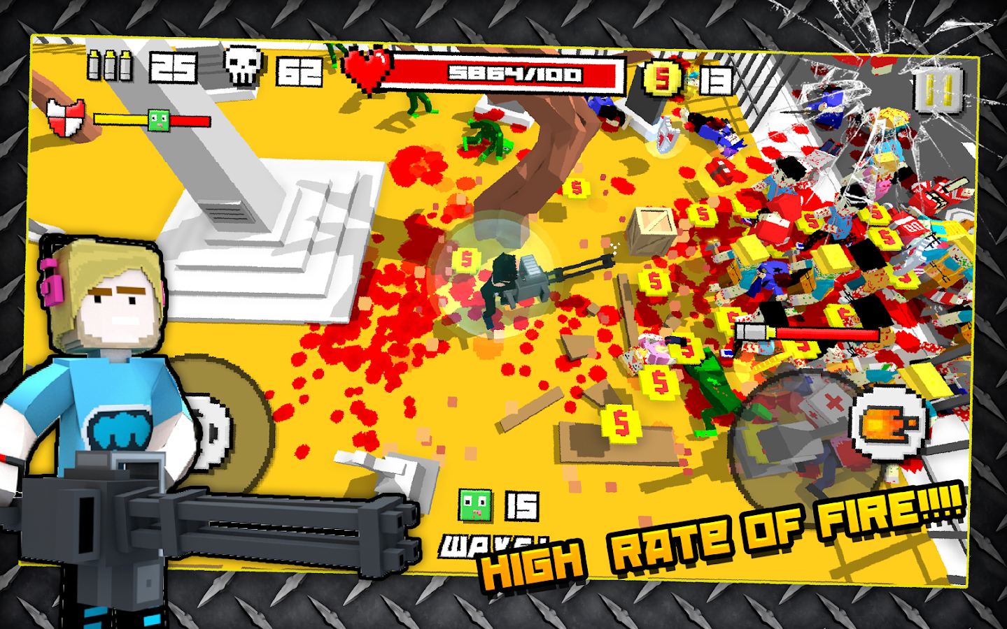 Zombie Breakout: Blood & Chaos Screenshot 11