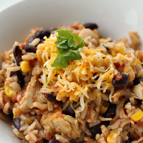 Chicken Taco and Rice Skillet Dinner