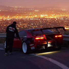 Car love by Mauricio Montoya - City,  Street & Park  Night