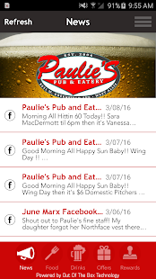 Paulie's Pub & Eatery - screenshot
