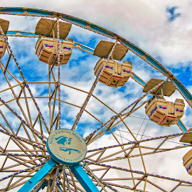 look way up by Lennie Locken - City,  Street & Park  Amusement Parks
