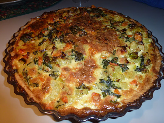 Else´s Blue Cheese Pie