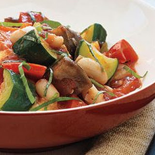 Ratatouille and White Beans