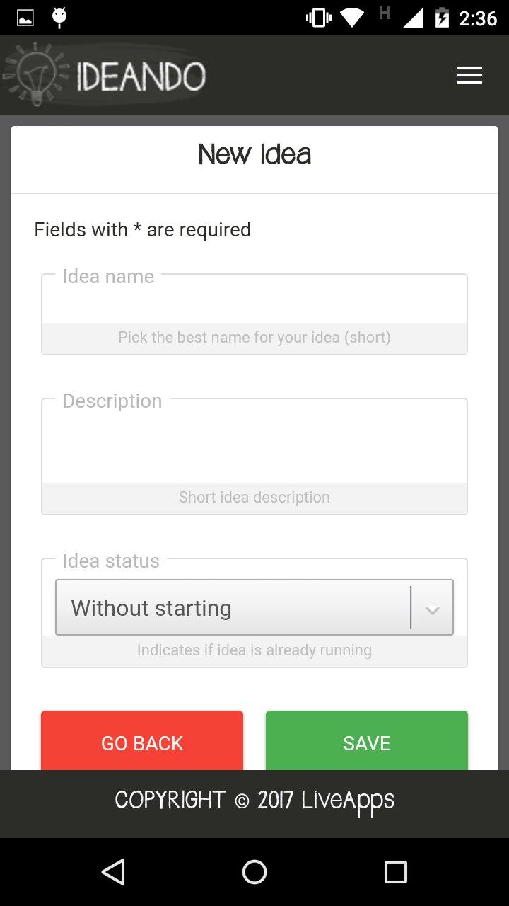 Ideando Pro Screenshot 3