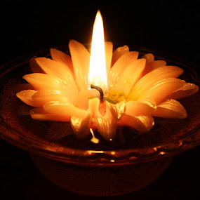 Candle Light by Lakshmi Vadlamani - Digital Art Things