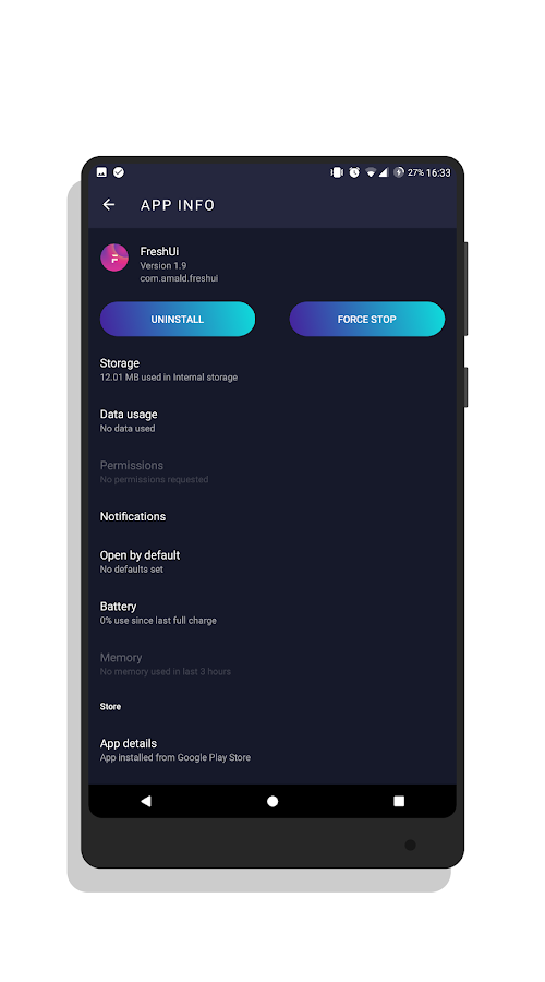 Freshui Dark Substratum Theme Screenshot 11