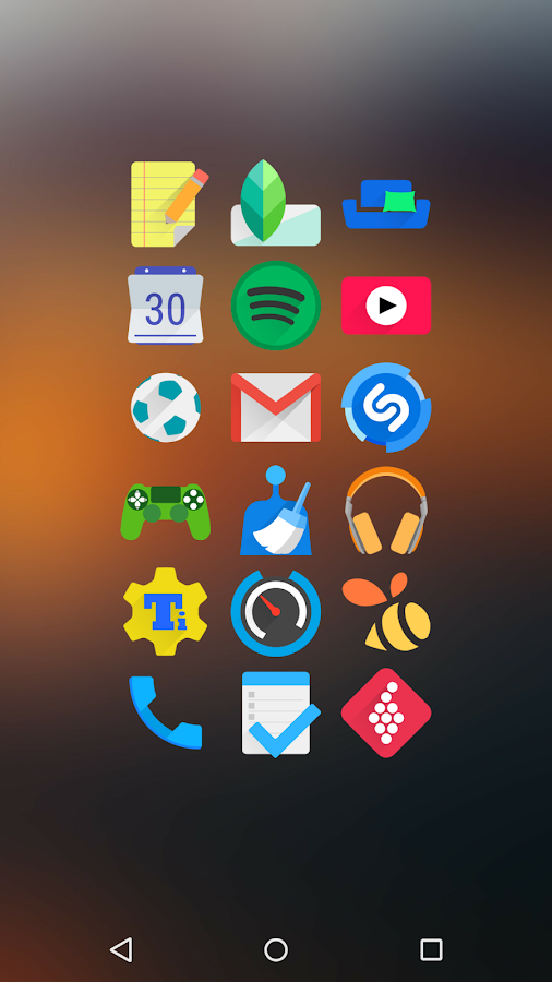 Rewun - Icon Pack Screenshot 1