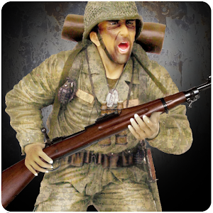 3rd person shooting game in the best world war 2 scenes APK Icon