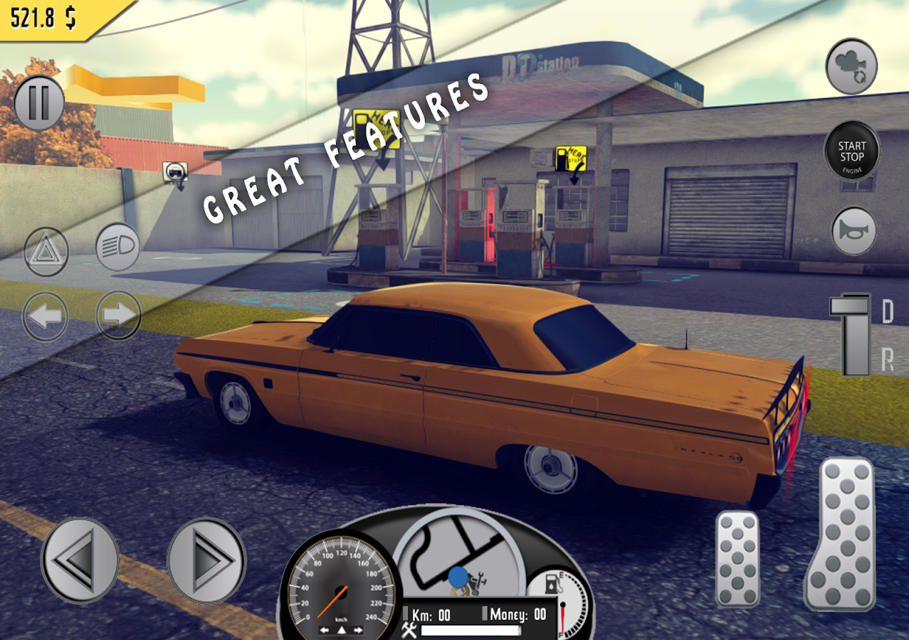 Amazing Taxi Sim 1976 Pro Screenshot 4