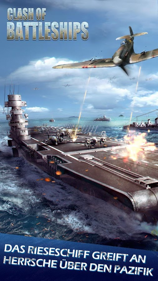 Clash of Battleships - Deutsch Screenshot 0