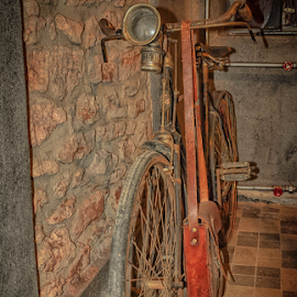 old mining bicycle  by Dragan Rakocevic - Transportation Bicycles