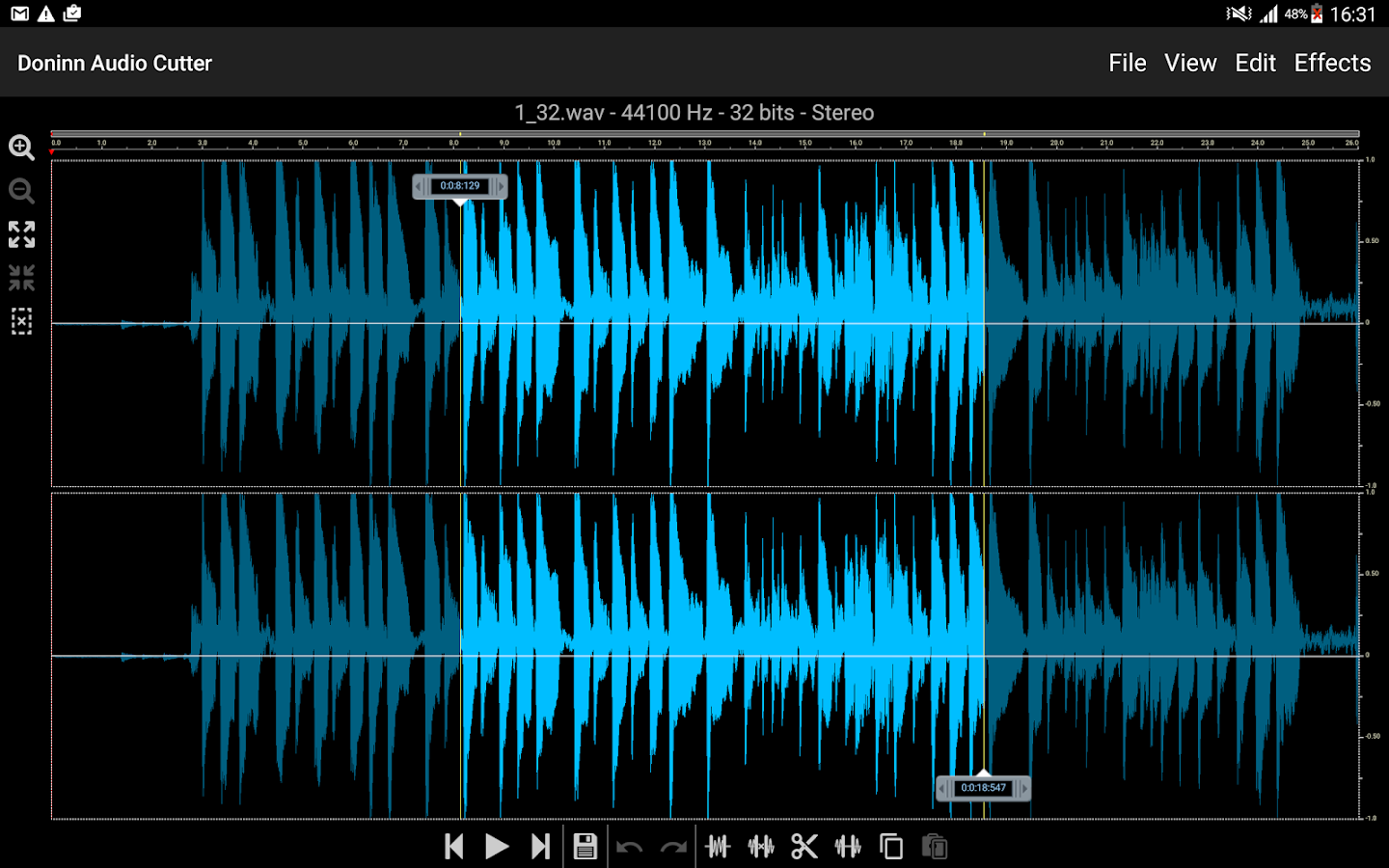 Doninn Audio Cutter Screenshot 6