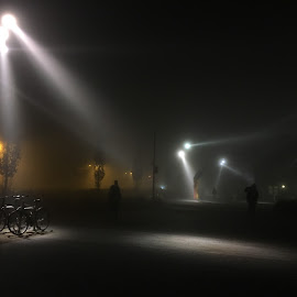Fog lights by Anwesh Soma - Instagram & Mobile iPhone ( shotoniphone )