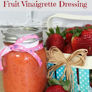 Strawberry Fruit Vinaigrette Dressing