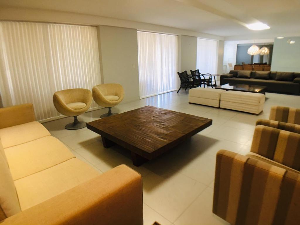 Apartamento com 3 dormitórios à venda, 265 m² por R$ 1.500.000 - Brisamar - João Pessoa/PB